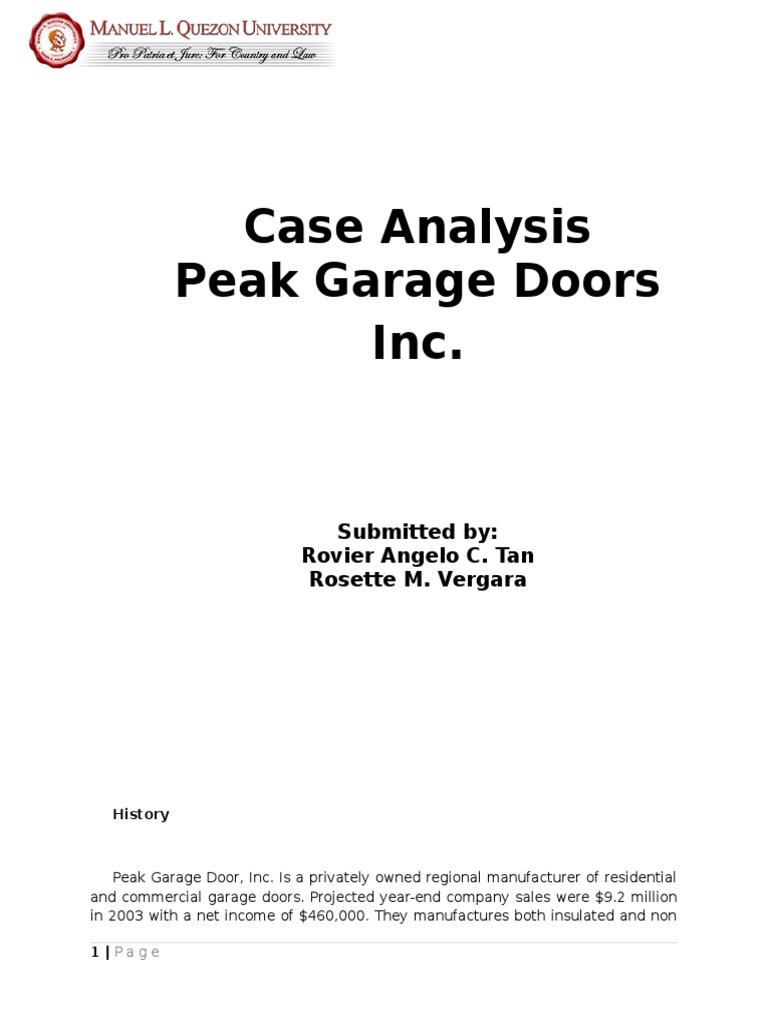 Peak Garage Doors Best Peak 2018