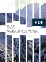 Plan Nacional de Paisaje Cultural