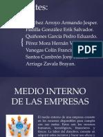 Medio Interno de Las Empresas