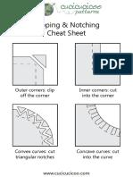 Clipping and Notching Cheat Sheet PDF