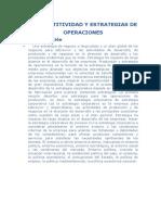 Competitividad y Estrategias de Operaciones