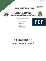 Lei CE Nº 13.729 Estatuto PMCE Esquematizado