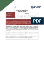 Informe de Evaluacion PADET 2016 - Evaluador 2