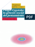 Piaget Vigotsky la genesis social del pensamiento