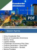 Tompkins Supply Chain Consortium Report Globalization and Crossborder Logistics