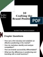 Kotler Brand Positioning