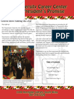 Spring 2016 Newsletter- University Career Center