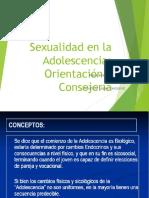 Consejería en Salud Sexual y Reproductiva en la Adolescencia 2016.ppt