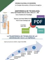 La Transferencia de Tecnología-Juan O. Molina-16.06.16
