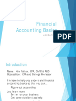 Financial accounting intro