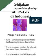 5. MERS-CoV - Kebijakan & Surveilans.ppt