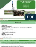 Seminário_Ciências_Poluição Do Solo e Mananciais