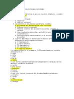 Segunda Semana Cuestionario de Parasitologia Entamoeba Histolitica