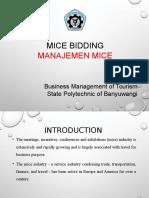 1. Manajemen MICE