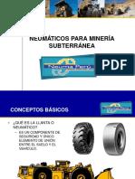 Neumaticos Para Mineria Subterranea