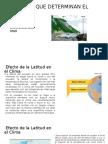 Factores Que Determinan El Clima
