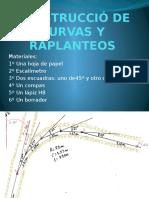 3º. Construcción de Curvas y Replanteos Office PowerPoint