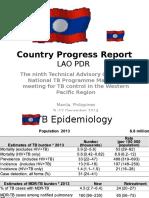Country progress report