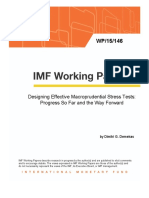 1. Designing Effective Macroprudential Stress Tests - Progress So Far and the Way Forward - Demekas
