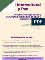 Interculturalidad en Salud y Paz