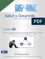 La Salud Como Desarrollo