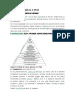 Pirámide de Kelsen Aplicada en El Perú