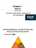 22 Sep 16 CHAPTER 1B - EnVIRONMENTAL Rules &Amp; Regulations Malaysia 2013