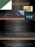 Propuesta de Los Planes Pat Pdum y
