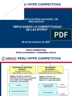 Presentacion Programa Mype Competitiva.