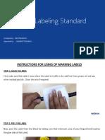 SBTS Labeling Standards