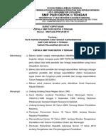 Sk Tata Tertib Smp Pgri Depok II Tengah