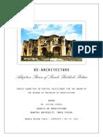 Adaptive Reuse of Farah Bakhsh Palace In