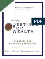 Destined for Wealth Manual CHris Hendrickson