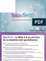 Presentation BioDivoo