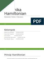 Mekanika Hamiltonian
