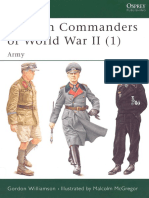 German Commanders of WWII Vol 1-Army