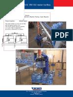 3340 Vacueasylift Vm160 Water Bottles Lyftman Jib Crane