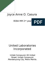United Laboratories Incorporated.pptx