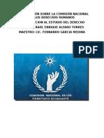 Investigación Sobre La Comisión Nacional de Los Derechos Humanos
