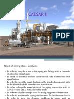 CAESAR II_Ver 7.0 Class Note