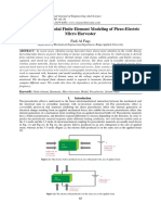 Harmonic and Modal Finite Element Modeling of Piezo-Electric Micro Harvester