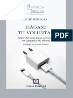 Hágase Tu Voluntad - Jose Benegas-