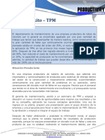 TPM Caso de Exito - Fabricante de Tubos de Concreto