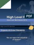 High Level PT