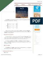Apuntes de Matrices