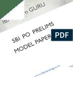 65859_SBI PO Preliminary Model Paper 15