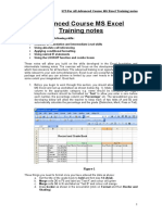 ICT-For All Advanced Course MS Excel Training notes.doc