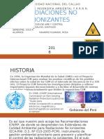 Radiaciones No Ionizantes Final