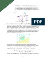 Biot Savart Law Applicatoions- Halliday Physics