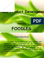 FoodLes product development